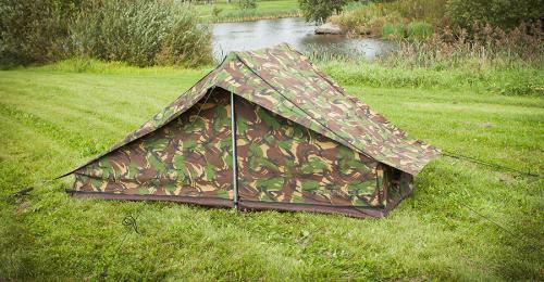Hollantilainen yhden hengen teltta, ylijäämä