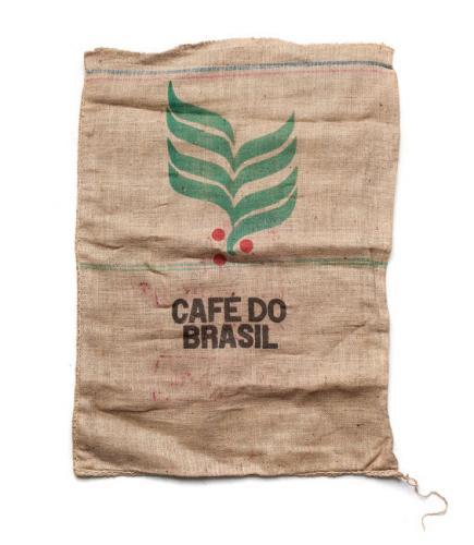 Brasilialainen juuttisäkki kahville, ylijäämä