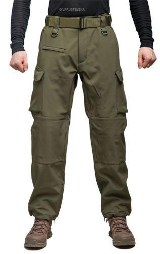 Mil-Tec Explorer Softshell housut, oliivinvihreä