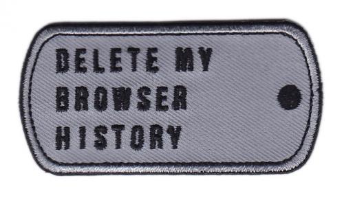 Särmä Delete My Browser History moraalimerkki