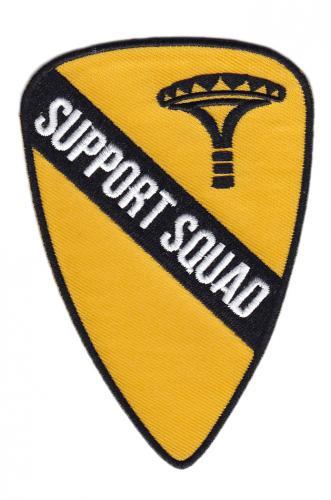"""Särmä  Support Squad """"Cavalry"""" moraalimerkki"""