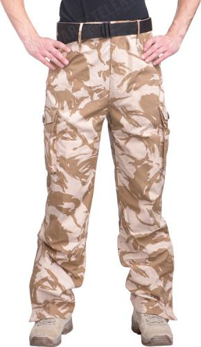 Brittiläiset CS95 Windproof Trousers, Desert DPM, ylijäämä