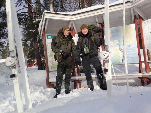 Talvieräilyä Evolla 6.-8.2.2015