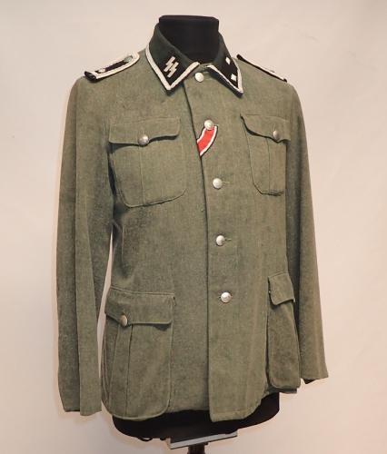 W-SS sarkatakki, Oberscharführer, repro, ylijäämä, 48