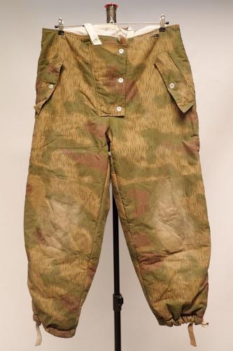 Wehrmacht toppahousut, Sumpftarn/valkoinen, repro, ylijäämä, Medium