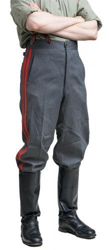 SA M/36 housut, diagonaalivillaa, revääreillä, ylijäämä