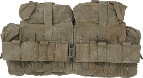 SADF Pattern 70 taisteluvyö takalaukuilla, ylijäämä