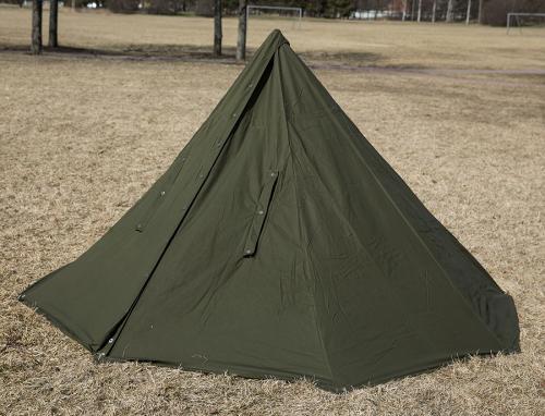 Puolalainen taistelijaparin teltta, ylijäämä