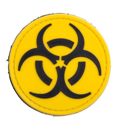 Biologinen vaara PVC-moraalimerkki