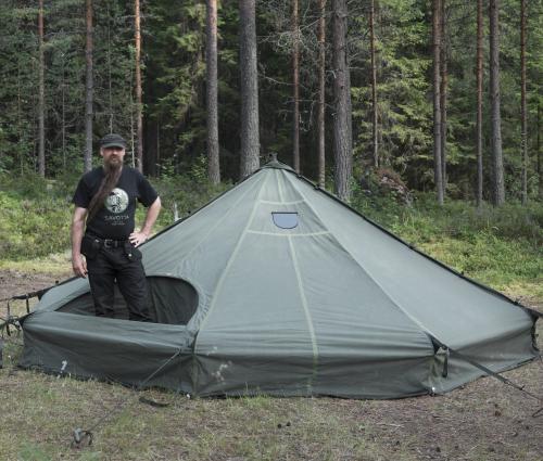 Savotta Hawu 8 teltan komponentit