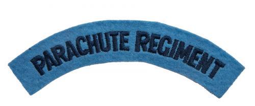 Brittiläinen Parachute Regiment hihamerkki, repro