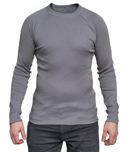 Hollantilainen pitkähihainen aluspaita, harmaa, ylijäämä