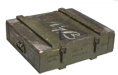 Puolalainen MG57 laatikko, ylijäämä