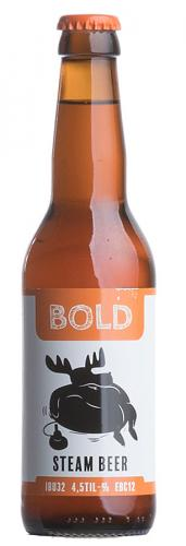 Moose on the loose: Bold Steam Beer