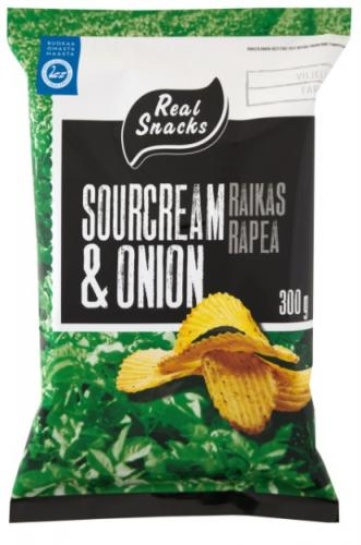 Real Snacks perunalastut, 100 g