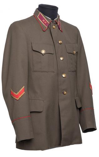 """CCCP upseerin takki, 2. maailmansodan malli, jalkaväen luutnatti, """"repro"""""""