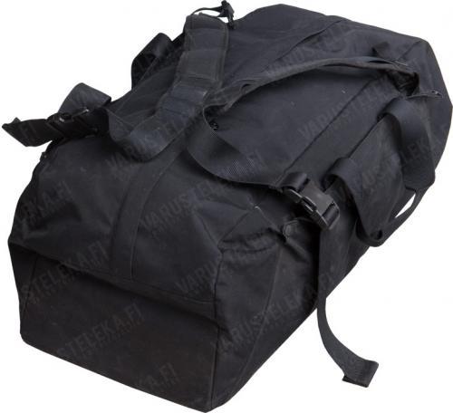 Hollantilainen keikkalaukku, 75 l, musta, ylijäämä