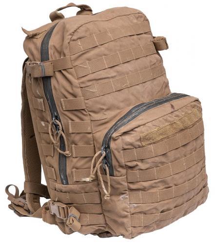 USMC FILBE Assault Pack, kojootinruskea, ylijäämä
