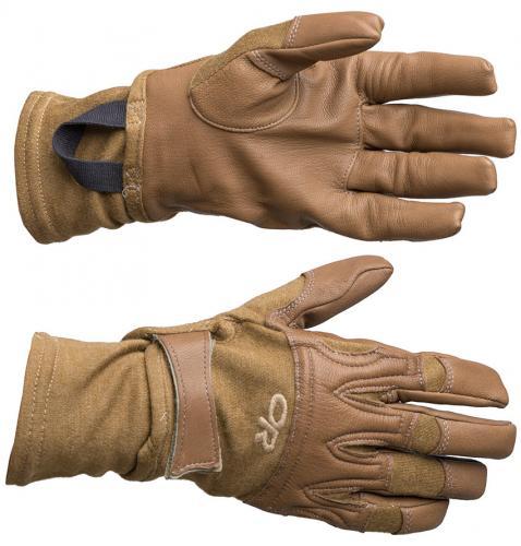 Outdoor Research Rockfall Gloves, kojootinruskea, ylijäämä