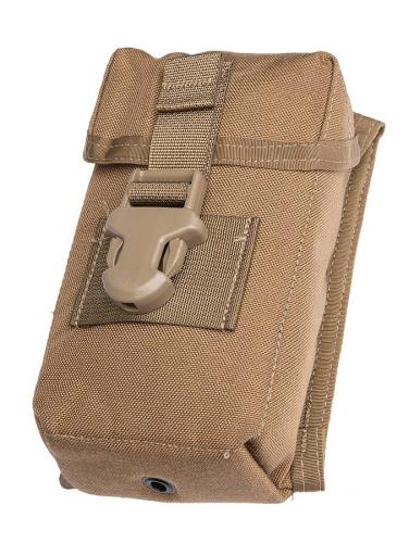 USMC MOLLE Optical Instrument Padded Case, kojootinruskea, ylijäämä