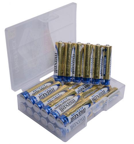 Maxell Alkaline-paristo, 24 kpl, rasiapakkaus