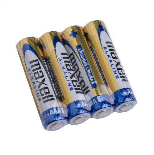 Maxell Alkaline-paristo, 4 kpl, kelmupakkaus