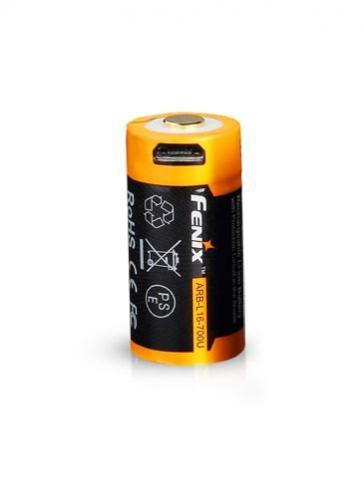 Fenix USB-ladattava ARB-L16-700U Li-ion akkuparisto