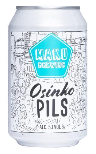 Maku Brewing Osinko Pils