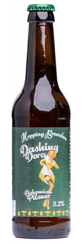 Hopping Brewsters Dashing Dora Bohemian Pilsner