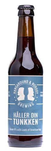 "Hangaround & Nobody Brewing ""Håller Din Tunkken"" Brown IPA"