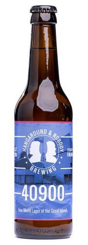 """Hangaround & Nobody Brewing """"40900"""" IPL"""