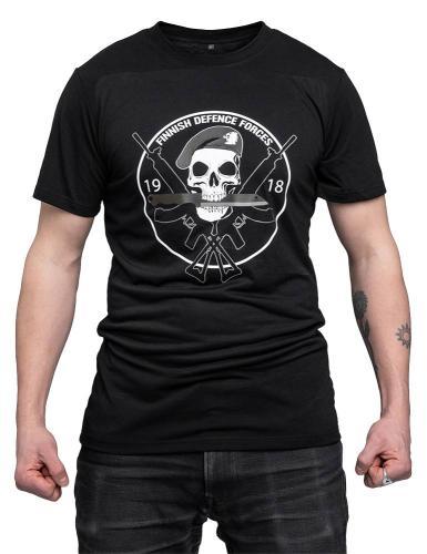 Särmä T-paita, FDF, musta