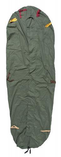 Brittiläinen modulaarinen makuupussin sisäpussi, ylijäämä