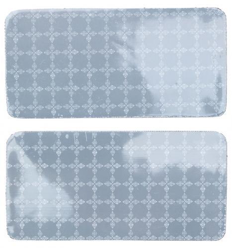 Police Prismatic -heijastinmerkki, 50 x 100 mm, 2 kpl