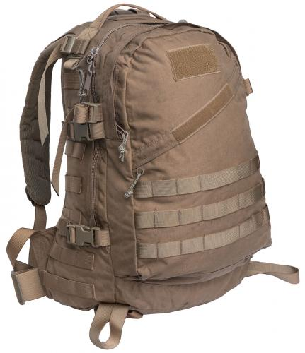 Hollantilainen 3-Day Assault Pack, kojootinruskea, ylijäämä