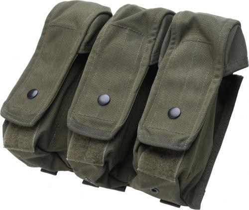 Blackhawk AK/M4 Triple Mag Pouch, vihreä, ylijäämä