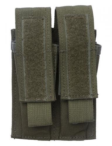 Blackhawk Double Pistol Mag Pouch, vihreä, ylijäämä