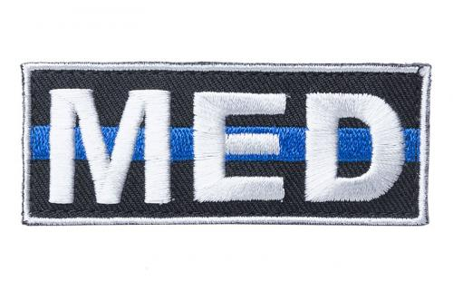 Kaaos Gear MED Thin Blue Line moraalimerkki