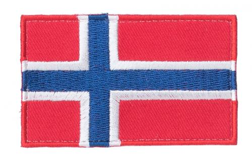 Särmä TST Norjan hihalippu, 77 x 47 mm