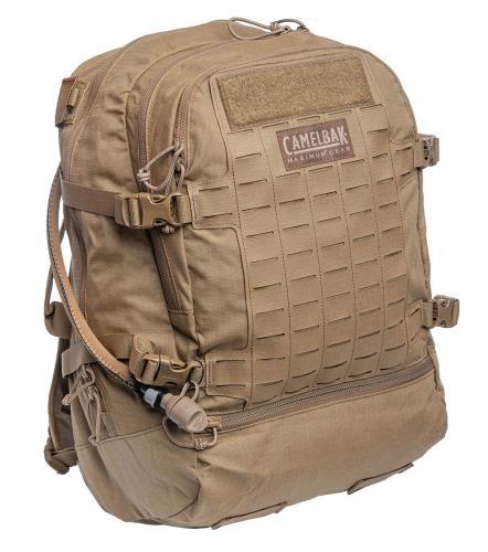 CamelBak Skirmish Mil-Spec Antidote Hydration Backpack, kojootinruskea, ylijäämä