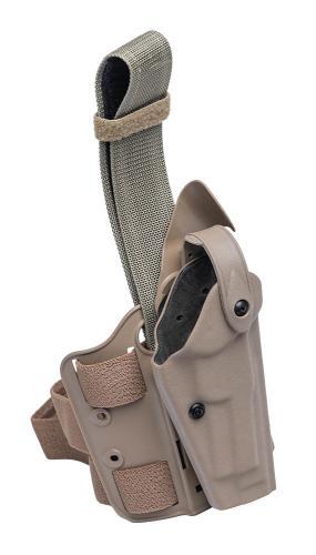 Safariland 6004 SLS Tactical Holster (Beretta), kojootinruskea, ylijäämä