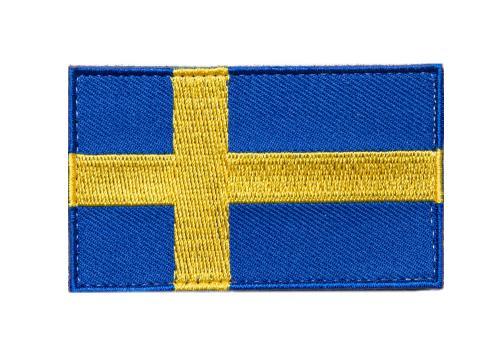 Särmä TST Ruotsin hihalippu, 77 x 47 mm