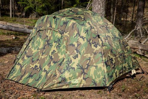 US kahden hengen teltta, Woodland, ylijäämä