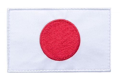Särmä TST Japanin hihalippu, 77 x 47 mm