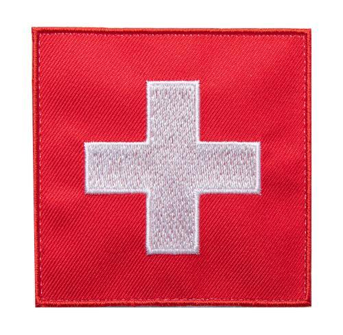 Särmä TST Sveitsin hihalippu, 77 x 77 mm