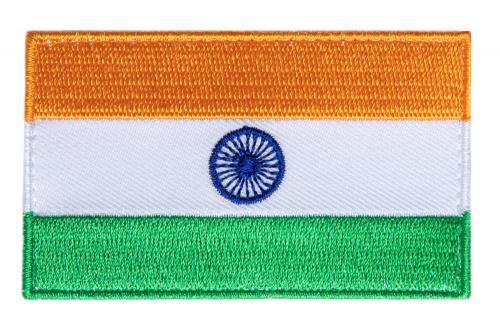 Särmä TST Intian hihalippu, 77 x 47 mm