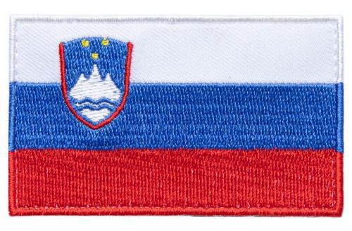 Särmä TST Slovenian hihalippu, 77 x 47 mm