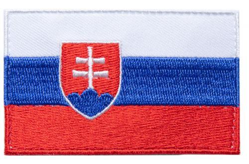 Särmä TST Slovakian hihalippu, 77 x 47 mm