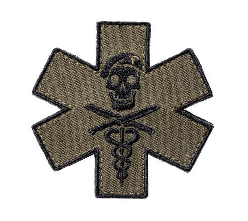 Särmä TST Tactical Medic moraalimerkki