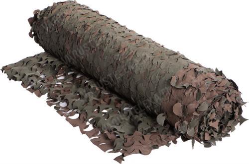 Naamioverkko, 2 m leveä, vihreä/ruskea, metritavara